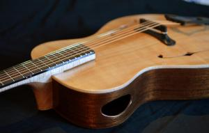 Red cedar Archtop Guitar by Rancourt Guitars
