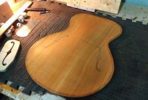 15'' Acoustic Archtop Sinker Red Cedar Top